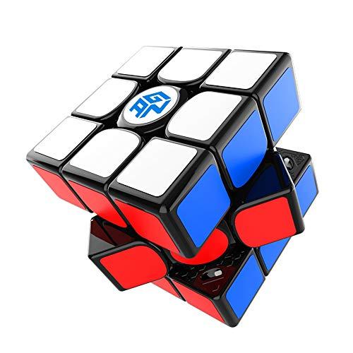 GAN 11 M Pro, 3x3 Cubo de Velocidad Magnético, Cubo Magico Juguete Rompecabezas Cubo Stickered (Negro Interno)