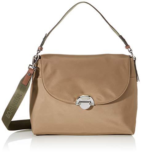 Bogner Damen Schultertasche Klosters Annie aus Nylon Handtasche mit Überschlag