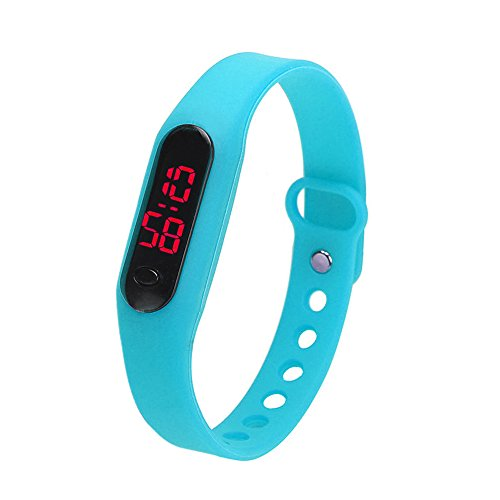 ARVALOLET Fitness Tracker - Reloj de pulsera unisex para deporte, informal, fecha y deporte, reloj digital, pulsera de fitness, podómetro