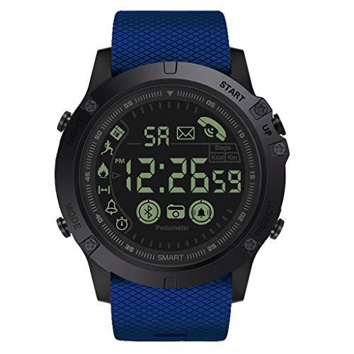 Winkey Herren Uhr, Rugged Smartwatch, Flaggschiff, 33-monatige Standby-Zeit, 24 Stunden Allwetterüberwachung Geschenk