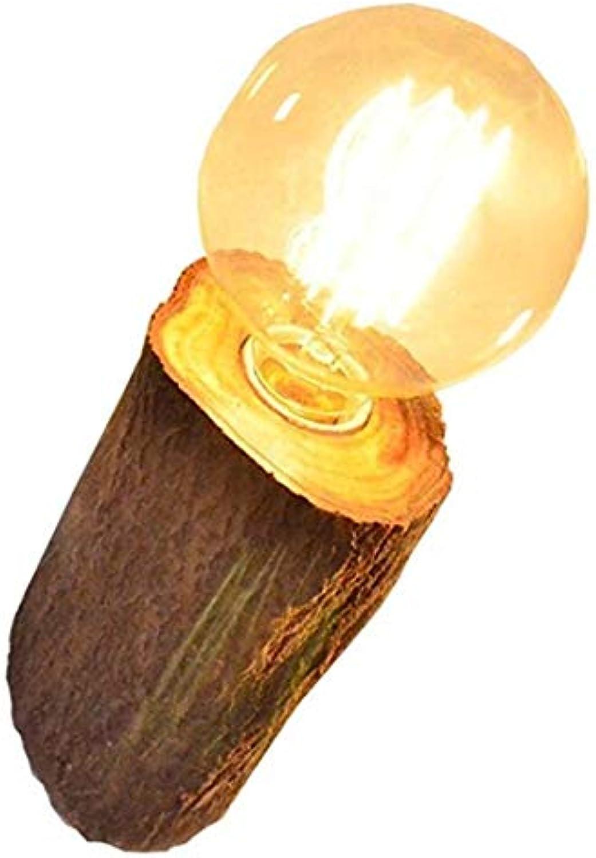 Wandleuchten Wandlampeauenlampe Wandbeleuchtung Nordic Holz Wandleuchte Nachttischlampe Aus Holz Schlafzimmergre3,9 Zoll Bis 4,7 Zoll