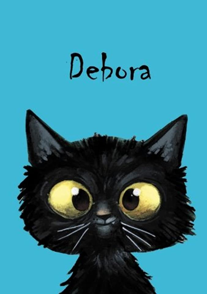タイト関係ネイティブDebora: Debora - Katzen - Malbuch / Notizbuch / Tagebuch: A5 - blanko