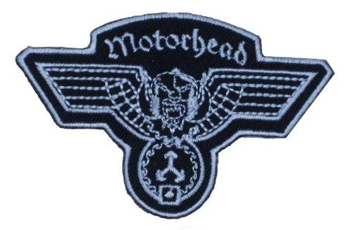 Aufnäher Aufbügler Patch Motörhead Logo Heavy Metal Rockband 6,0 cm / 9,0 cm