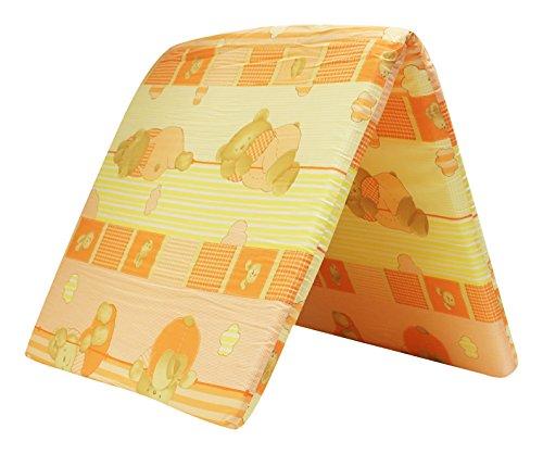 Poupy 804.6 Materassino per Lettino da Campeggio, Colori Assortiti, 60x120