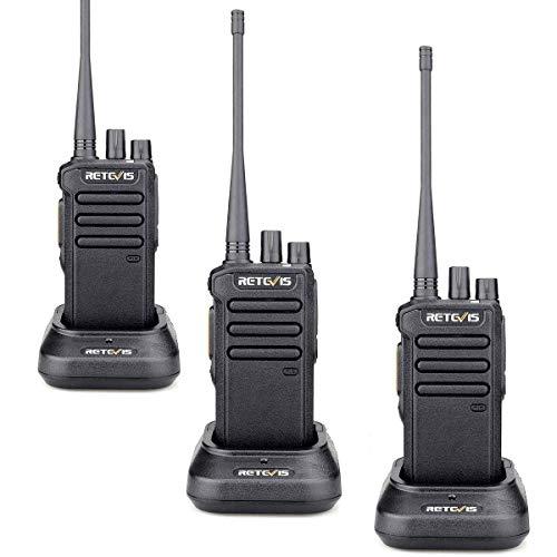 Retevis RT43 2 Way Radios Digital High Power UHF 32CH Group Call VOX Dual Time Slot DMR Radios Walkie Talkie Long Range(3 Pack)