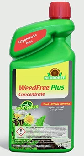 Neudorff 613818 WeedFree Plus Concentrated Weedkiller 1020ML