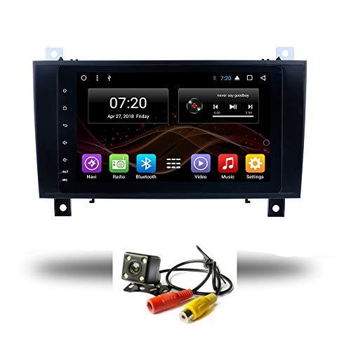 Android 8.1 Car DVD Radio GPS para Benz SLK Class 2000 – 2011 R171 SLK200 SLK280 SLK300 SLK350 SLK55 estéreo Audio Navi Video con Bluetooth Calling WiFi