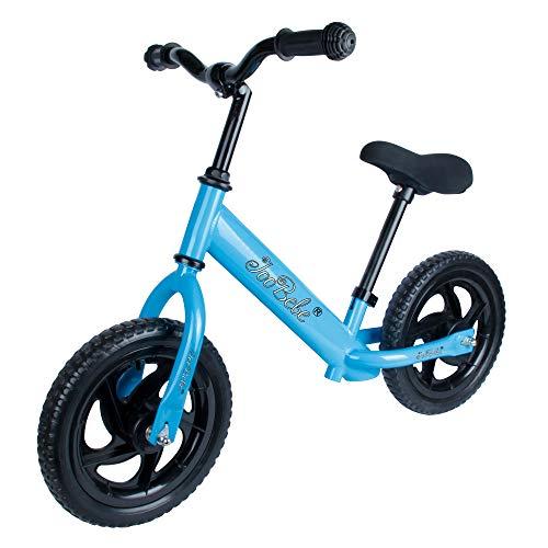 Bicicleta para bebé, Andador sin Pedales, Asiento Regulable y Llantas EVA, Bicicleta Infantil 2 años