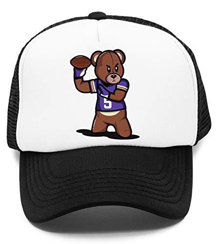 VICTRS - Teddy Fußball Kinder Kappe Baseball Rapper Cap