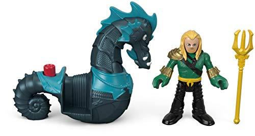 Mattel Imaginext Fisher-Price DC Super Friends Aquaman & Seahorse 2