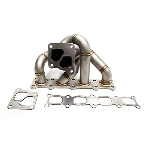 Rev9Power Rev9_HP-MF-EVOX-OE-11G; HP-Series Evo x / 10 4B11 Equal Length Turbo Manifold