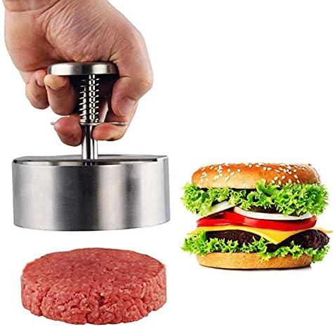 Round Shape Fixed price for sale Hamburger Press Minced Meat Non Max 62% OFF Stick Cutle Chef Pie