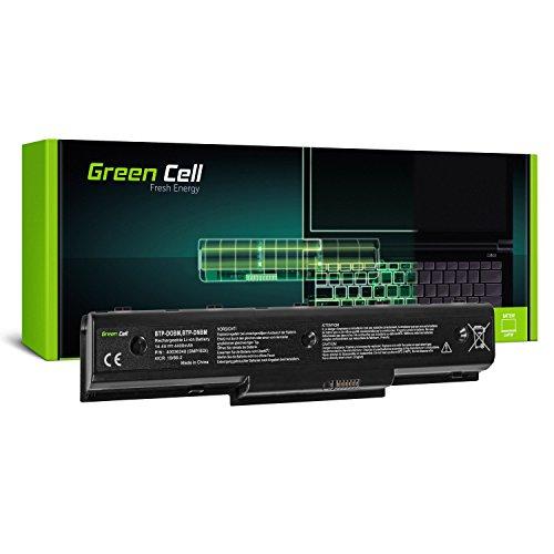 Green Cell® Standard Serie BTP-D0BM BTP-DNBM BTP-DOBM Laptop Akku für Medion Akoya E7218 P7624 P7812 MD97872 MD97938 MD98680 MD98770 MD98920 MD98921 MD98970 (8 Zellen 4400mAh 14.4V Schwarz)