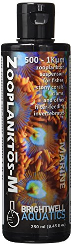 Brightwell Aquatics Zooplanktos-M - Zooplankton Food Supplement for Marine and Reef Aquariums