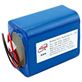Rechargeable Lithium Ion Battery Pack - VIDAR 3.7V 18600mAh High Capacity Li-ion Battery Pack with JST PH2.54/2P Plug-in(Customizable) for Electronics,Toys,Lighting,Equipment