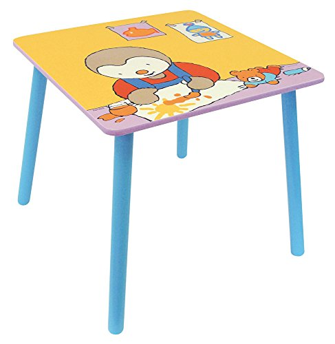 Fun House - 712180 - Ameublement Et Décoration - Tchoupi - Table Carrée