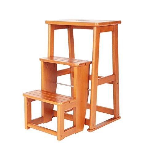 JJZXT Paso utilitario de Madera by IKEA Mesa de bambú Natural for...