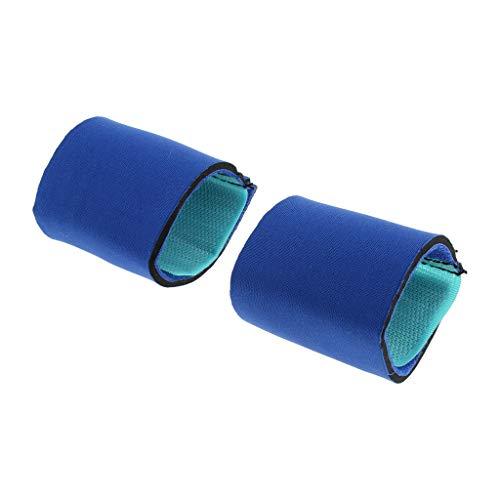perfk 2pcs Hunde Sprunggelenk Bandage Ellenbogenbandage für Vorderbein - M