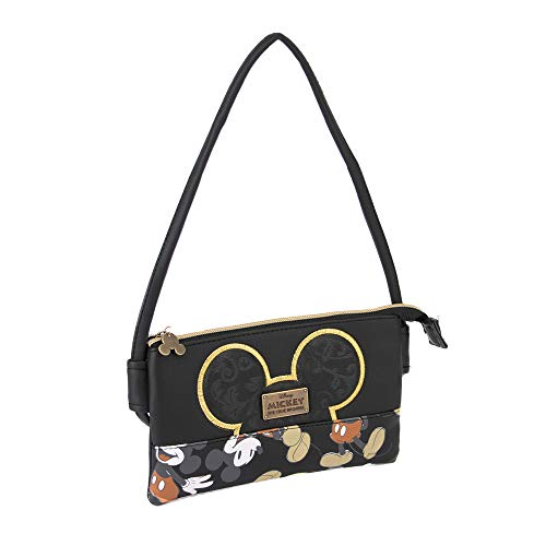 20 cm,Red Karactermania Diseny Icons Minnie Mouse-Wide Chain Shoulder Bag Messenger Bag