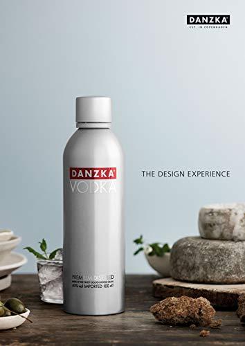 Danzka | Original | Premium - Wodka | 1 x 700ml | Aluminiumflasche | Skandinavisches Design | Copenhagen - 4