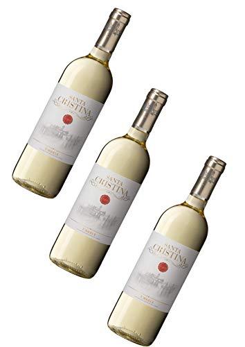 Weißwein aus Umbrien - 3 x 0,750 l. - Santa Cristina Bianco Umbria IGT - Weingut Marchesi Antinori