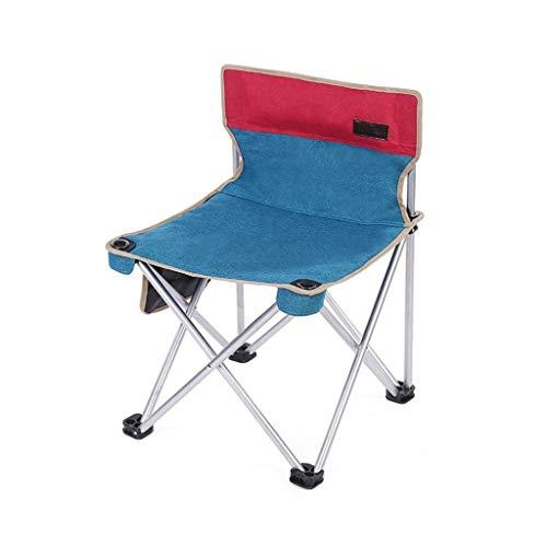 CSQ-portable Portable avec chaise, chaise pliante durable durable chaise de barbecue chaise extérieure chaise de voyage de printemps chaise facile à stocker des chaises Pliable ( Color : D )