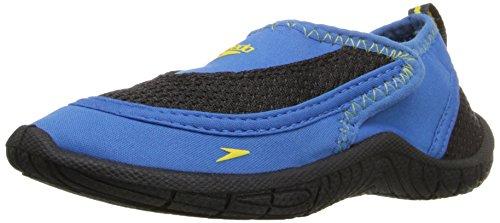 Speedo Surfwalker Pro 2.0 Wasserschuhe (Kleinkind), Baby - Mädchen Unisex-Kinder, blau / schwarz, 10-11 Toddler