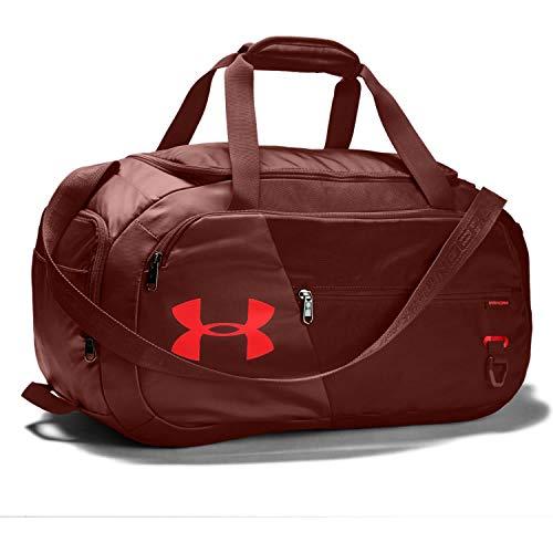 Under Armour Undeniable Duffle 4.0 kompakte Sporttasche, wasserabweisende Umhängetasche Unisex, rot (Cinna Red/Cinna Red/Beta(688)), S