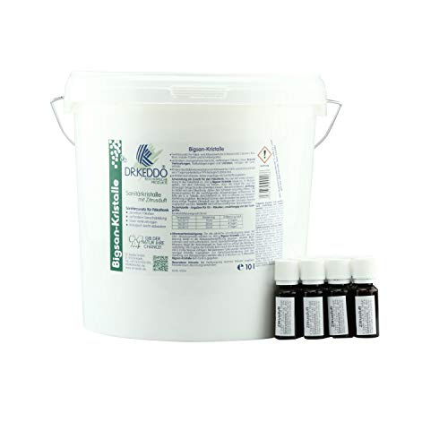 Dr. Keddo Bigsan Sanitärkristalle (10 kg) incl. Zitrusduft