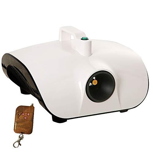 PXQ Elektrischer Spritzluftreiniger Erfrischerreiniger Nebelgerät Zerstäubungsdesinfektionsmittel für das Home Office des Innenraums,Weiß