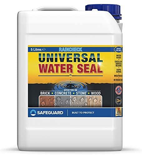 SAFEGUARD Waterseal Universal Universelle Wasserdichtung, farblos, 5 l