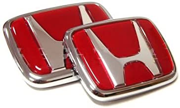 Auto Au/ßenaufkleber Zubeh/ör Dekoration XHULIWQ Auto 3D Metall Styling Abzeichen Aufkleber Chrom Emblem F/ür Honda Acura Accord Civic