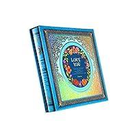 フォトアルバムセットレトロオールドフォト大容量500枚5インチ7インチミックスパック家族愛家族旅行記念30.9x31x5.5cm