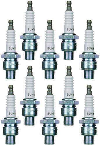 Conjunto (10pcs) NGK Bujías estándar Stock 5626–níquel Core punta superficie descarga tipo 0.070en buhw-2