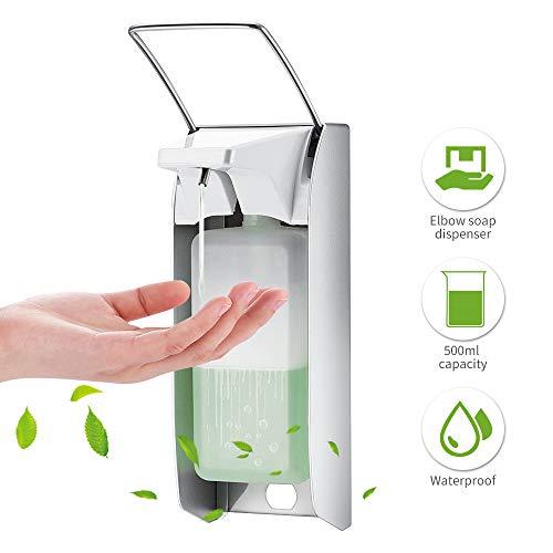 Z@SS Flüssigseifenspender Elbow Press Desinfektionsmittelspender Wand-Seifenpumpen Seifenspender für Hotel-Küche