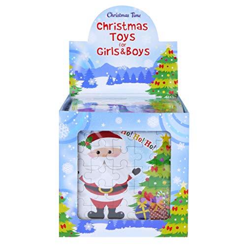 Mini Puzzles Weihnachten Thema 108 Stück Großposten Mädchen Jungen Partytüten Füller