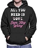 SDFGSE All You Need is Sum Ting Wong UK Drag Race Men's Hooded Sweatshirt S