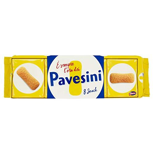 Pavesi Pavesini Classici, Biscotto Leggero per Colazione o Gustoso Break, Confezione da 200 g