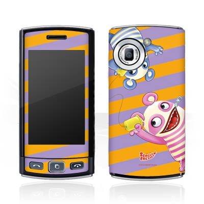 LG GM360 Viewty Plus Aufkleber Schutz Folie Design Sticker Skin Sorgenfresser Betti & Bill Fanartikel Merchandise