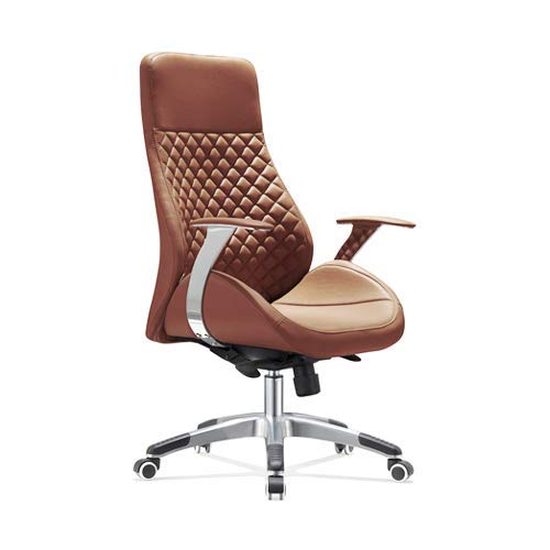 Preisvergleich Produktbild Vivol Design Bürostuhl Bologna Cognac - Luxus fürs Office - Bürostühl auf Synthetik leder in zwei farben erhältlich