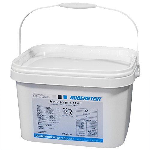 Orig. Ruberstein® Ankermörtel standard 2 K, 6 kg zum Einbetten der Spiralanker