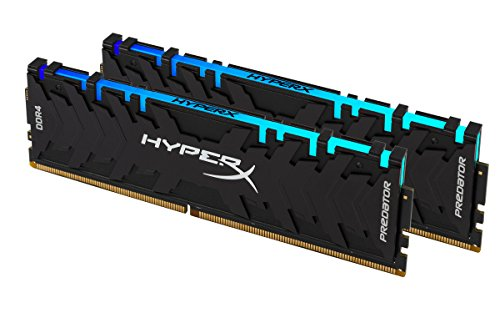HyperX Predator HX436C17PB4AK2/16 - Memoria RAM (DDR4 16GB 3600MHz, DDR4 CL17 DIMM, 2x 8G, XMP RGB)