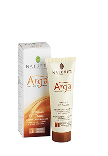 Bios Line Arga' Cc Cream, Medio Scura, Spf 15-20 g