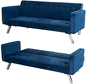Good & Gracious Modern Convertible Futon Sofa Bed