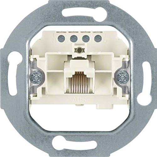 Berker 4568 UAE-stopcontact 8(4)-polig mod