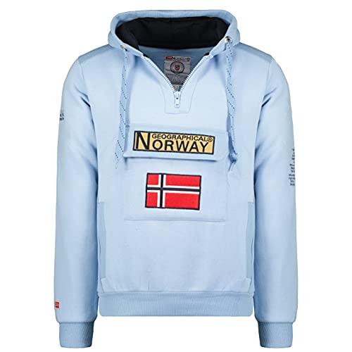 Geographical Norway GYMCLASS Men - Sudadera Capucha...