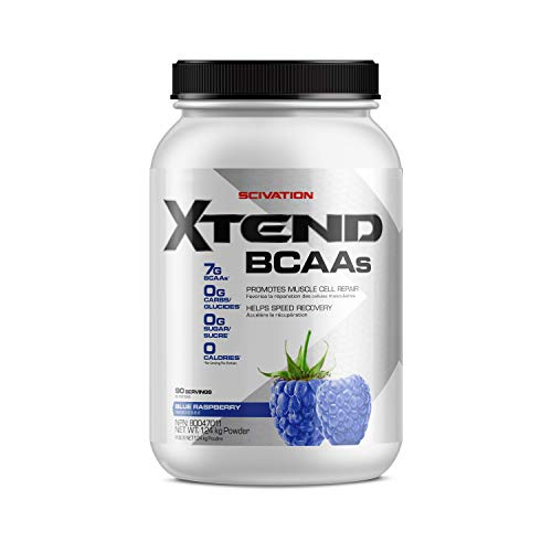 SCIVATION XTEND BCAA Blue Raspberry 90 Servings, 124 g