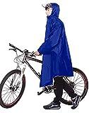 🍀【適応身長】150〜185cm(男女兼用) シーズン:一年中通用 🍀【サイズ】前丈:120cm 後丈:105cm 袖丈:84cm 重量:0.85kg カラー:ブルー 対象:メンズ、レディース 🍀【防水性】 耐摩耗性に優れた ナイロンオックスフォード素材を使用し、丈夫で強力に雨を防水。表面には撥水加工を施し、縫い目には雨がしみ込まないように防水加工を施しています。 🍀【長袖付き】レインポンチョは長袖付きなので運転を除魔せず、収納ポーチ付きで折り畳んで持ち運び!! 🍀【沢山の機能性】通学用レインス...