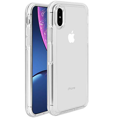 Krichit Phone Protective Case, Ongoing Clear Series Case for iPhone X & iPhone Xs Case, Anti-Drop Shock Absorption for Apple iPhone X, Xs, 10 Case (Clear, iPhone X/Xs)