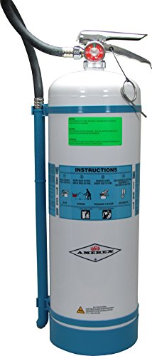 Amerex B272 Water Mist Fire Extinguisher 2.5 Gallon Nonmagnetic